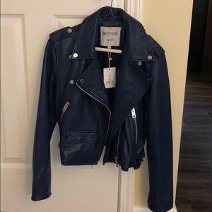 330cc78fcde6e Walter Baker Jackets   Coats - NWT Walter Baker Liz Moto Leather Jacket
